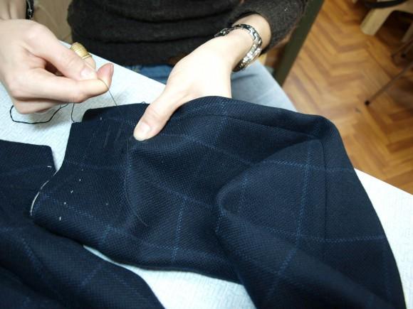 Как укоротить рукава пиджака в домашних условиях